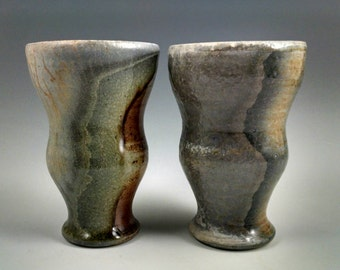 Two wood-fired tumblers. Free shipping to the lower 48 States. #3.