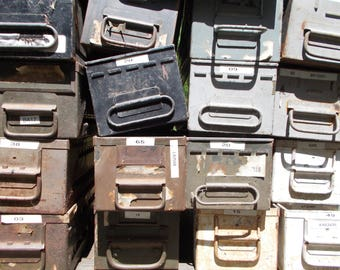 Miscellaneous/Mismatched Industrial Drawers in Lots of 14, 16 or 27