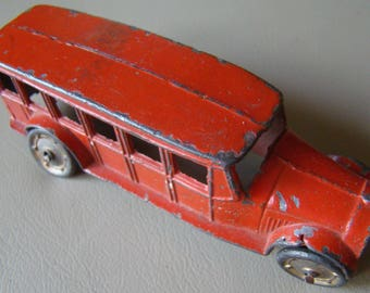 Vintage 1920's - 1930's Tootsie Toy Bus # 12128006