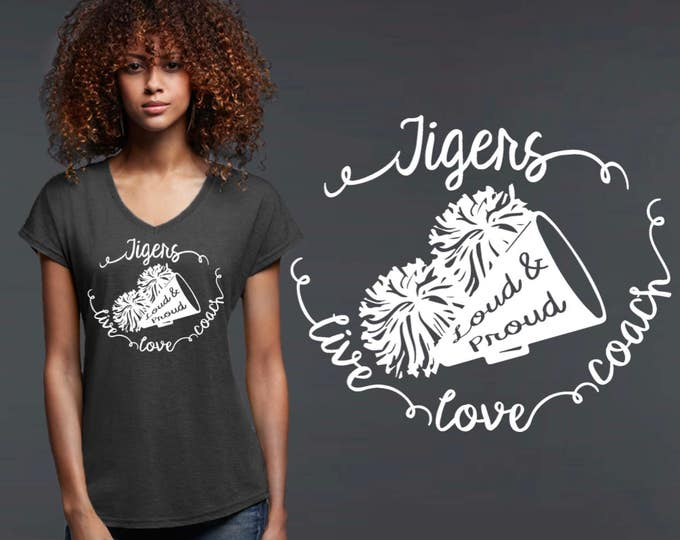 Cheer Coach Gift | Cheerleading Gifts | Cheer Coach | Cheerleading | Cheer Gifts | Cheer T-Shirt | Personalized T-shirts | Korena Loves