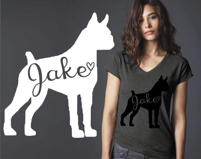 Boxer   Boxer Dog   Dog Shirt   Dog Lover Gift   Custom T-shirts   Personalized T-shirts   Inspirational T-shirt   Korena Loves