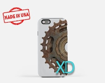 Bike Gear iPhone Case, Industrial iPhone Case, Gear iPhone 8 Case, Bicycle, iPhone 6s Case, iPhone 7 Case, Phone Case, Safe Case, SE Case