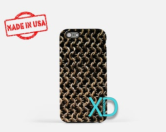 Chainmail iPhone Case, Metal iPhone Case, Chainmail iPhone 8 Case, iPhone 6s Case, iPhone 7 Case, Phone Case, iPhone X Case, SE Case New