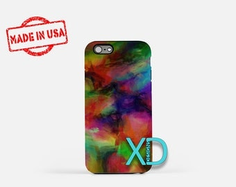 Mixed Paint iPhone Case, Artist iPhone Case, Mixed Paint iPhone 8 Case, iPhone 6s Case, iPhone 7 Case, Phone Case, iPhone X Case, SE Case