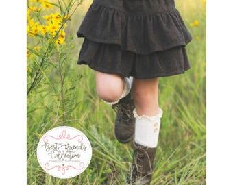Girls Skipper Skirt and Skort Pattern Sizes 1/2-14