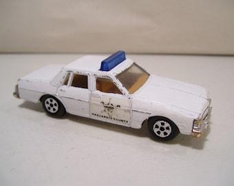 Vintage Dukes Of Hazzard Pontiac Bonneville Sheriff Diecast Car 1980 Ertl, Hong Kong
