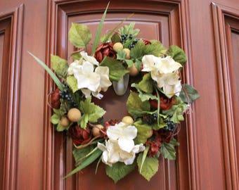 Small Wreath -Earthy Tones (S17-90)