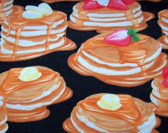 Short Stack of 6 Pancake Octagon Breakfast Placemats, Great for Children, Tweens and for Pancake Lovers!