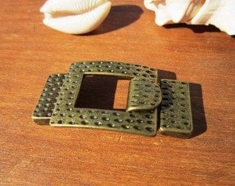 2pcs bronze clasp, bracelet clasps, jewelry clasps, leather cord clasp, bracelet clasp, leather clasp, jewelry clasp, jewelry findings