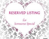 Reserved Listing - Shipping