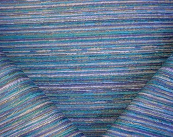 2-7/8 yard Robert Allen / Beacon Hill 241177 Sunset Blvd in Calypso Blue - Lasso Drapery Upholstery Fabric - Below Wholesale - Free Shipping