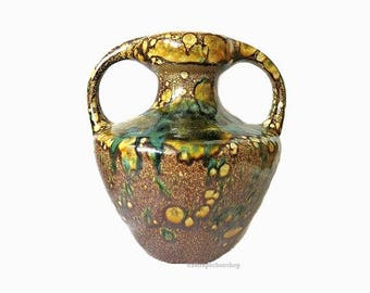 Marei pottery vase | West german pottery | Mid Century Design