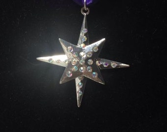 Sailor Saturn inspired necklace