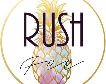Rush Fee for Bushel and a Peck Boutique