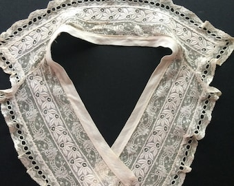 Victorian Vintage Delicate Lace Collar Bridal Wedding