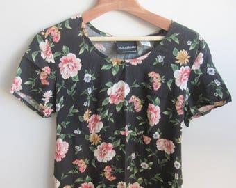 Floral Rayon MiniDress