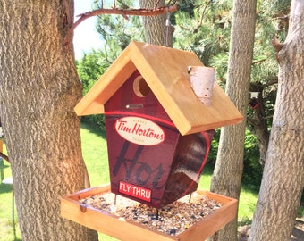 Tim Hortons Fly Thru Bird Feeder
