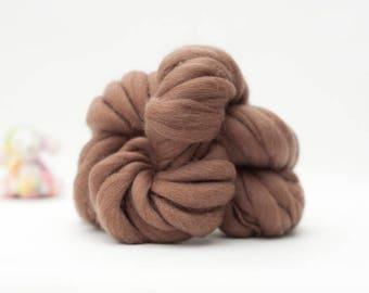 Mini Skein -Hand Spun Yarn - Thick and Thin Yarn - Hand Dyed Yarn - Dyed Wool – Dyed Wool Yarn – Merino (#272)