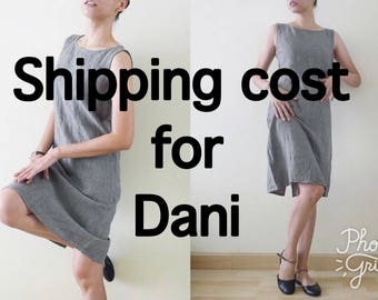 Shipping cost for Dani