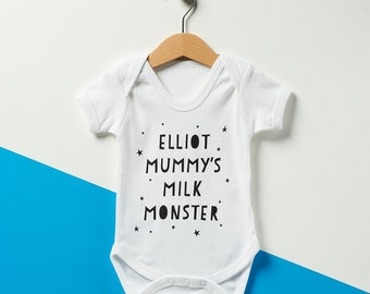 Personalised Mummy's Milk Monster