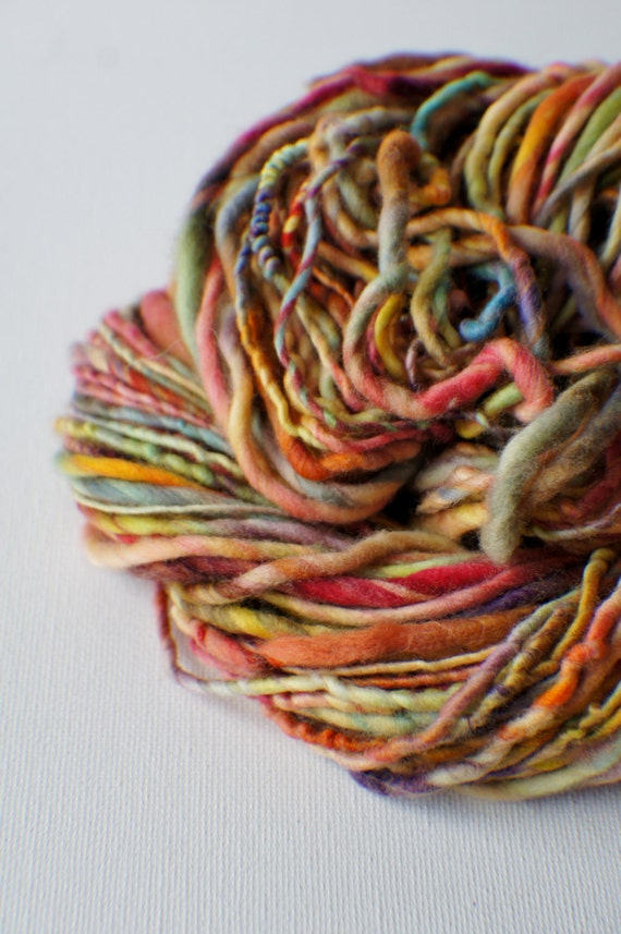 Knitting Supplies Canada : Sale bulky handspun yarn thick and thin art