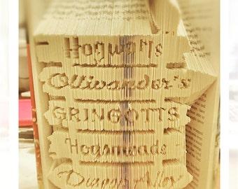 Harry Potter Signpost Bookfold