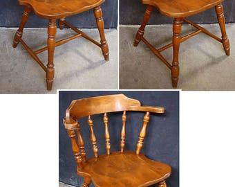 Antique Wood Chair Etsy
