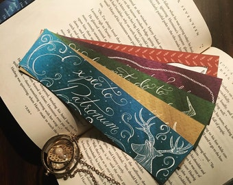 Harry Potter Quote Bookmark Set