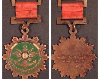 Old china military medal