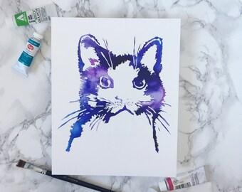 Humane Series - Cat Print