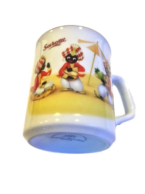 Reutter Porzellan German Coffee Mug, Vintage Sarotti Chocolate Coffee Mug Cup Germany