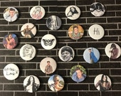 Harry Styles - One Direction | Button/Pinback/Badge