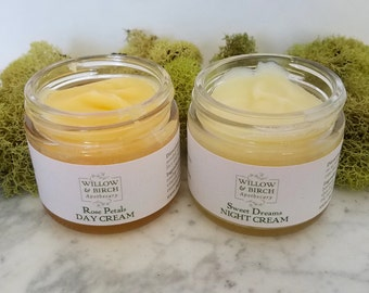 Natural Beauty Face Cream Set, Gifts for Mom, Gift for Wife, Gift Ideas for Her, Natural Moisturizer, Bath Gift Set, Small Gifts