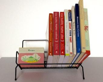 Black Wire Desktop Table Top Book Case