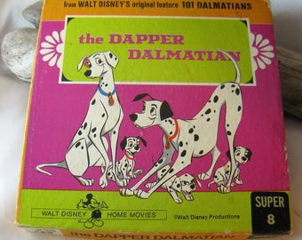 Vintage The Dapper Dalmation Super 8mm Home Movie 1119, from Walt Disney's Original Feature