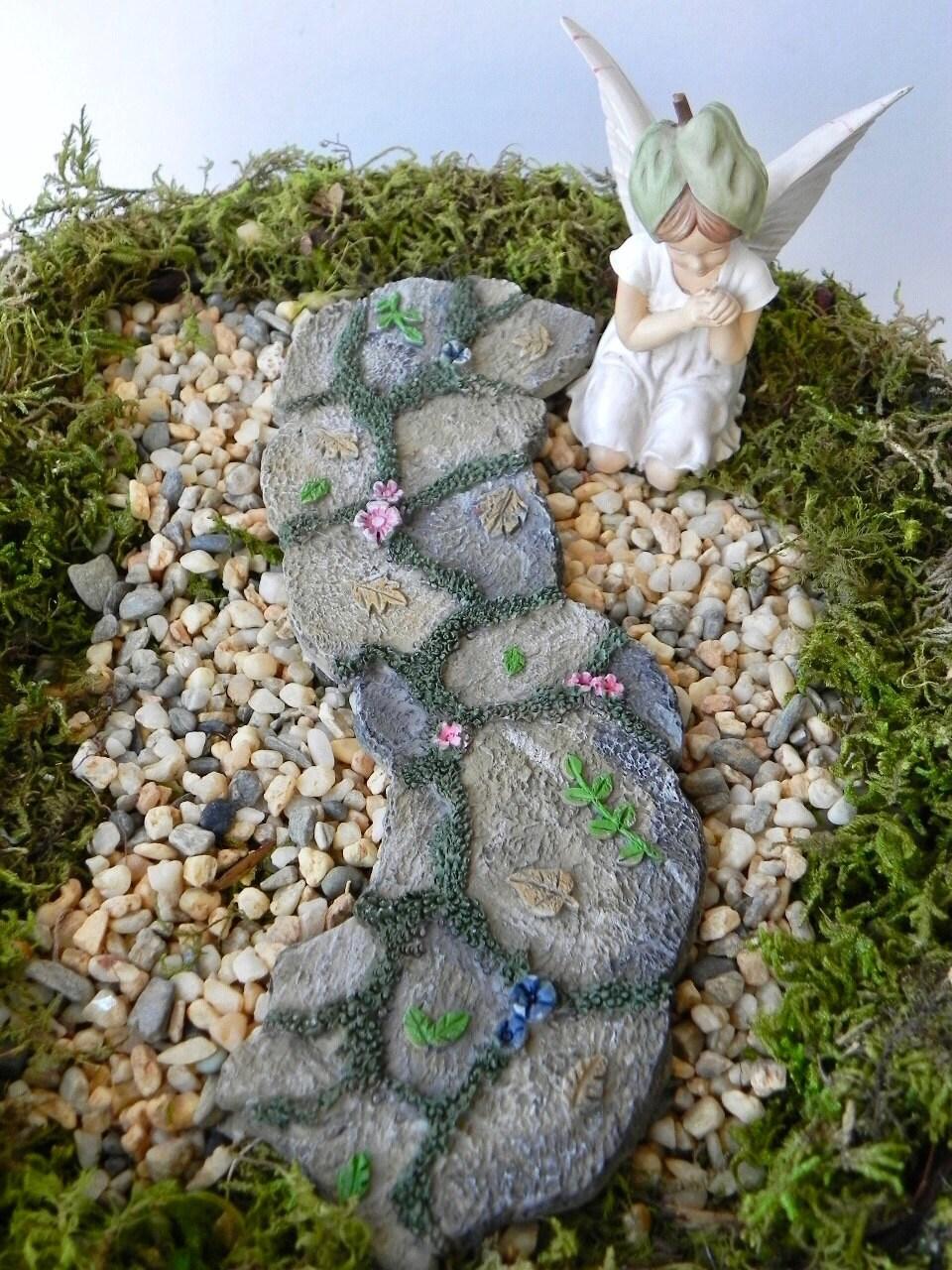 Fairy Garden Accessories Pathway Stone Look Path Fairy