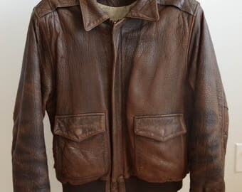 Vintage Bomber Jacket - Medium 38-39
