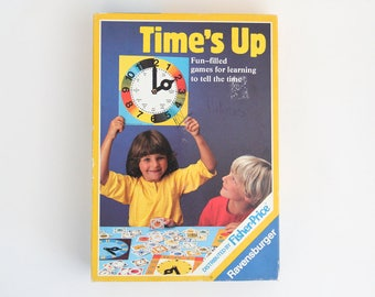 Vintage Time's Up game by Ravensburger, in original box, 1986
