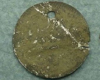 Rare Antique ISLAMIC TURKMAN Vintage Incantations Tribal AMULET  Talisman