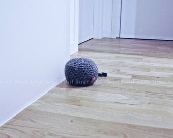 Crochet wool doorstop | door stopper | doorstops handmade