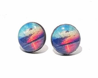 Sunrise Post Earrings