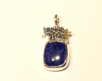 Sterling Silver Jesus first Pendant