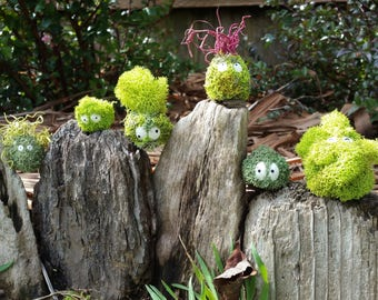 Forest Spirit, Moss Sculpture, one of a kind, Blindbox, Forest Protectors, Garden Guardians, Garden Spirit