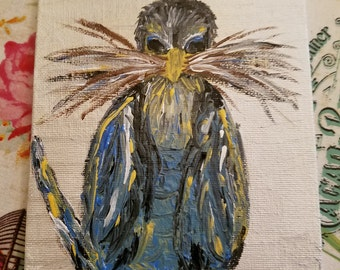 Mama Bird Painting