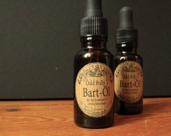 Odd Polly's beard oil 20 ml, beard care, Bartöl natural cosmetics without additives, 10 scents!