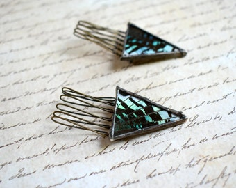 Hair Clip Hair Pin Butterfly Hair Combs Sunset Moth Hair Accessories Bohemian Jewelry Butterfly Wings Insect Jewelry