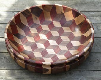 Tumbling bowl xl ''earth tones''
