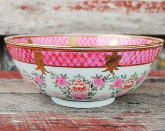 Vintage Japanese Porcelain Ware Serving Bowl