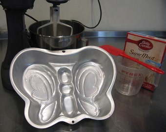 Wilton Cake Pan, Butterfly Cake Pan From Made Of Flaws
