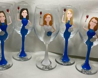 Portrait Wine Glass
